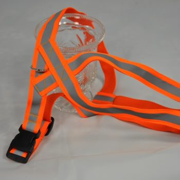 Gurtband Geschirr Safty First Orange